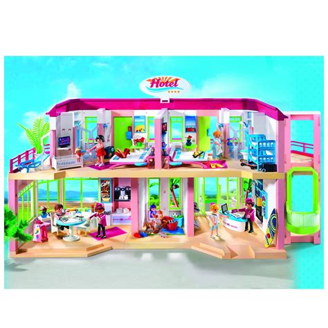 playmobil inn hotel playmobil