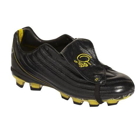 pele football shoes pele 1962 fg junior football boots black yellow