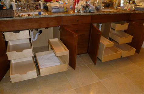 bathroom vanity drawer storage ideas shelfgenie of miami creates additional slide out bathroom
