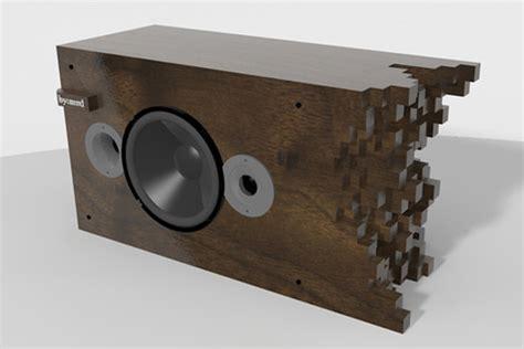 speaker designer wooden speakers designed by matt dennis