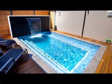 desain kolam renang anak  rumah minimalis youtube