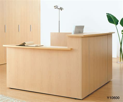 reception desk custom multi level l reception desk w right side low counter
