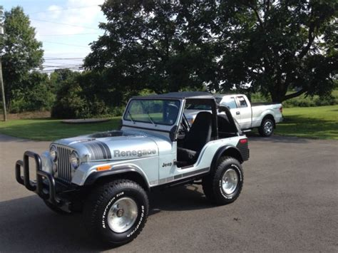 Jeep Cj For Sale In Pa 1979 Jeep Cj5 Renegade New Crate 360 Amc 3 Speed Manual
