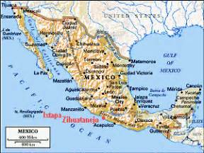 Ixtapa Mexico Map by Pin From A To Zihuatanejo On Pinterest