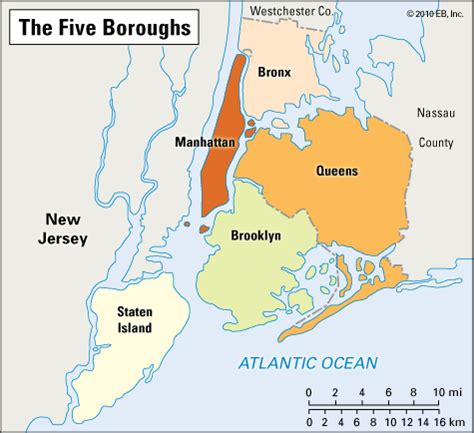 map of new york city boroughs new york map of boroughs