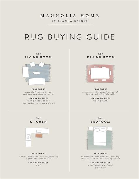 rug buying guide choosing the best rug for your space magnolia market