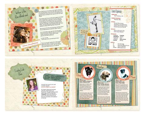 scrapbook layout idea websites ebook and print book design scrapbook portfolio ideastylist