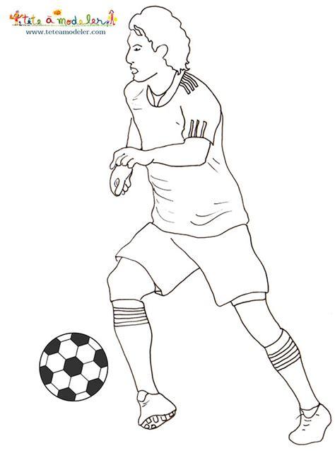 Coloriage Des Footballeurs Coloriage Football