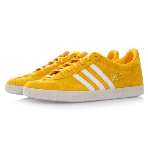 adidas gazelle yellow