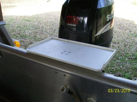 boat bait table making my own bait prep table suggestions the hull