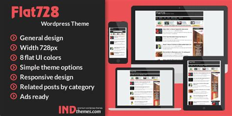 ind themes com flat 728 wordpress theme