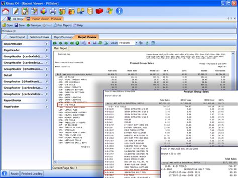 Report Writing Software In Mis by Report Writer Rinax Computer Systems
