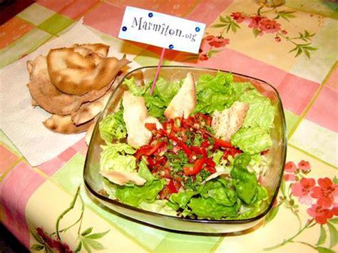 fattouche salade libanaise recette de fattouche