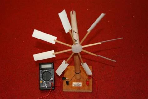 How To Make A Paper Wind Turbine - wind turbine model construction that generates real