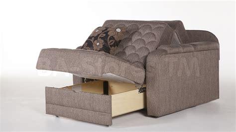 Verona Chair and a Half (Full Sleeper)   Redeyef Brown