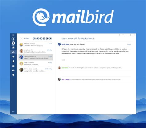 Business E Mail Clients Top 13 Products