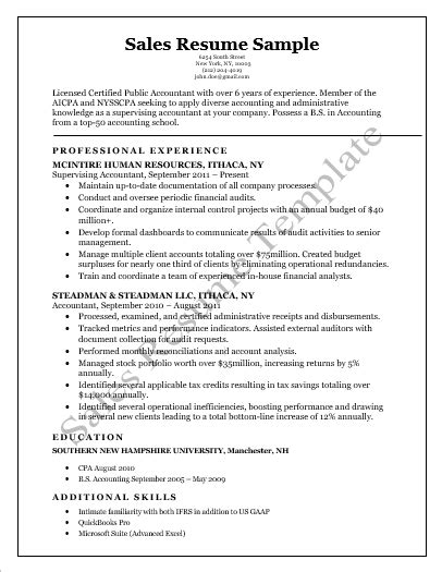 Sales Resume Templates 5 Printable Professional Cv Free Word Templates Sales Resume Template 2