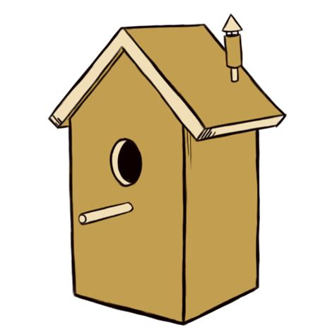 Basic Home Floor Plans how to draw a birdhouse 5 steps with pictures wikihow