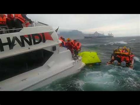 sinking boat robben island 68 people have been rescued off sinking robben island f