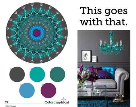 what color goes best with purple turquoise paint colors and purple color schemes on