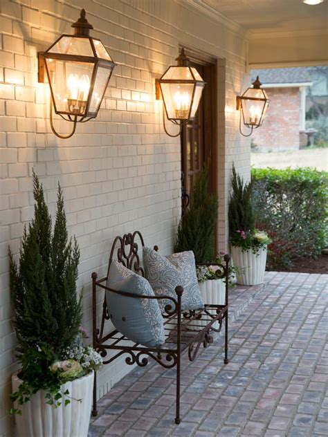 fixer upper outdoor lighting creating french country in the texas suburbs hgtv s