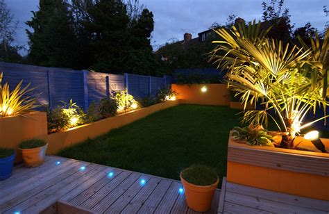 Truly Innovative Garden Step Lighting Ideas Garden Patio Lighting Design