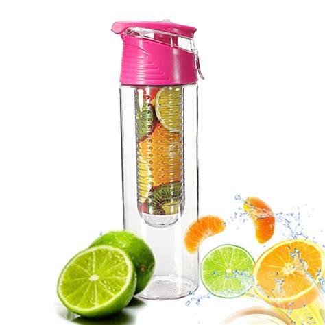 Tritan Water Bottle With Fruit Infuser Bpa Free T3010 tritan bpa free healthy sport cycling fruit juice infuser water bottle 800ml new ebay