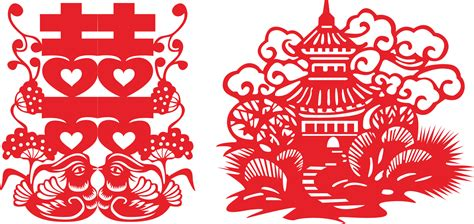 new year paper cutting patterns beautiful traditional wedding paper cutting