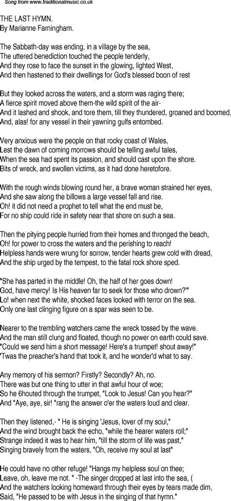 The Last American Lyrics Time Song Lyrics For 11 The Last Hymn