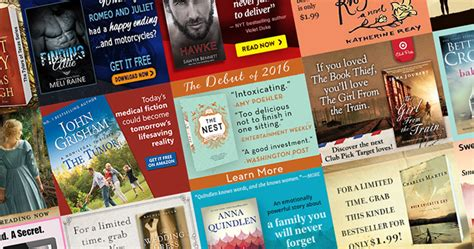 ten fresh takes books book marketing display ads 20 stunning designs