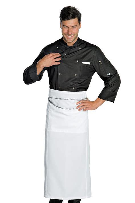 vetement cuisine pas cher veste chef cuisinier noir microfibres