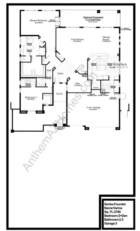 country club floor plans varina