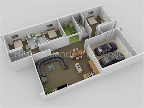home design plans ground floor 3d 3d floor plan design floorplans modeling rendering hi