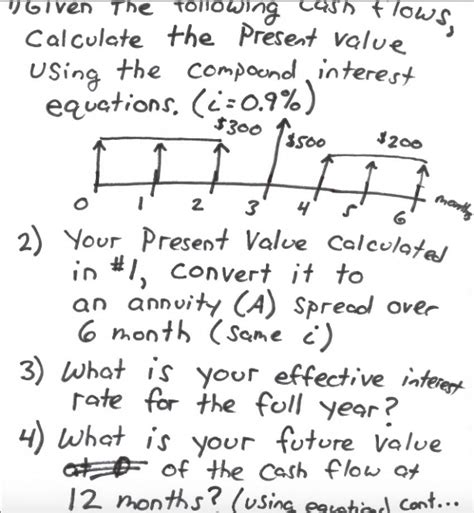 .net present value valuation method projecting a projects