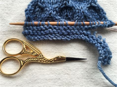 how to attack your how to attack your knitting with scissors and live tributary yarns this knitted