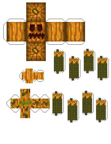 Minecraft Spider Papercraft - papercraft pumpkin spider pumpkin patch mod minecraft