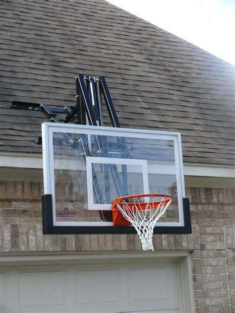 roof master roof mount basketball system from dunrite