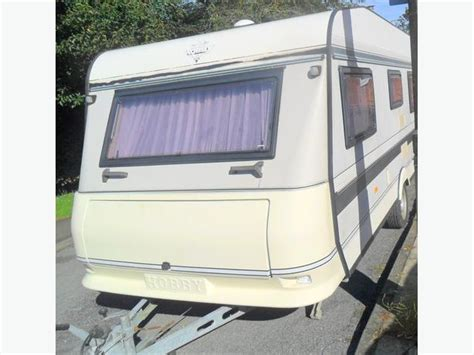caravan end bedroom 1998 hobby award caravan 4 berth with end bedroom awning