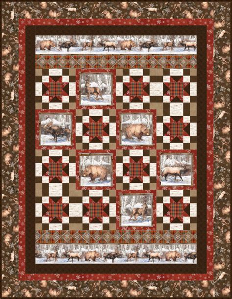 Nature Quilt by Nature S Window Quilt Pattern Bs2 415 Advanced Beginner
