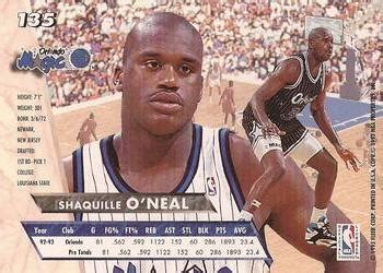Basketball Cards Ultra 1996 Jam City Shaquille O Neal 9of 12 The Trading Card Database Shaquille O Neal Gallery