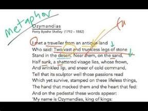 Ozymandias Poem Essay by Ozymandias Analysis
