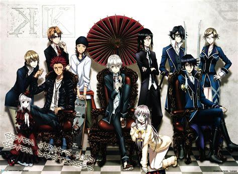 K Anime Season 2 by K Return Of Subtitle Indonesia Kusonime