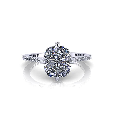 ring cusion cushion diamond engagement ring jewelry designs