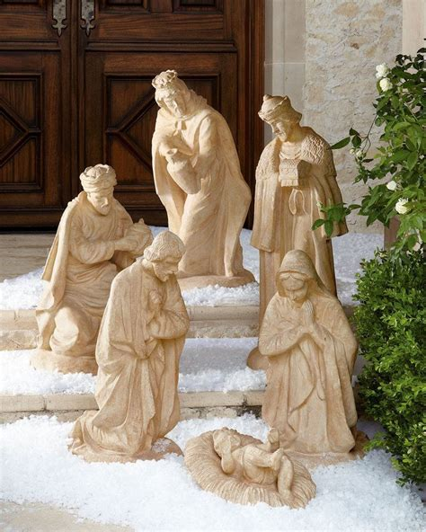 3 piece holy family christmas outdoor set 11 best nativity images on nativity nativity sets and sagrada familia