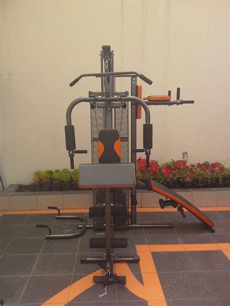 Alat Multi Station Home Hg 001 2 Sisi Pro Total Fitness alat pembentuk badan dan otot kekar homegym 3 sisi hg8309 harga murah