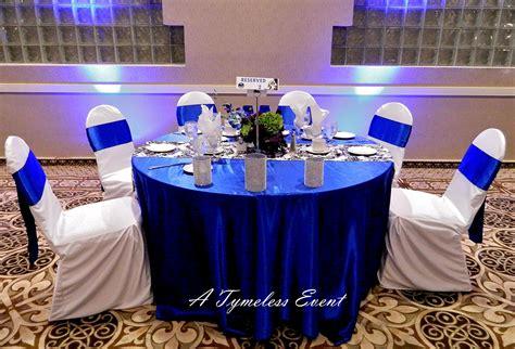 royal blue wedding reception decorations decoration