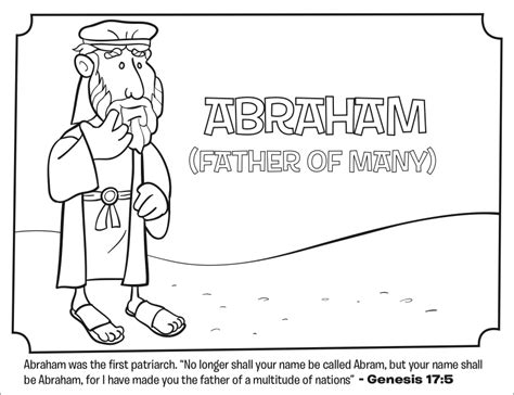 abraham bible coloring pages what s in the bible