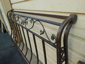 king size ornate metal scroll sleigh bed ebay