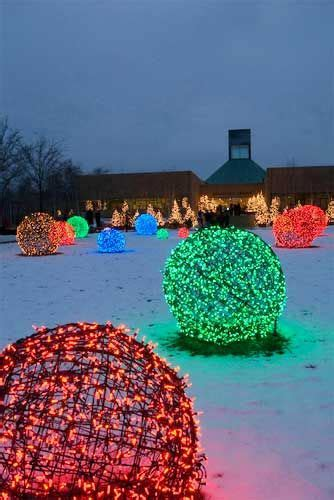 how to make christmas light balls 10 glorious outside lights ideas nifty diys