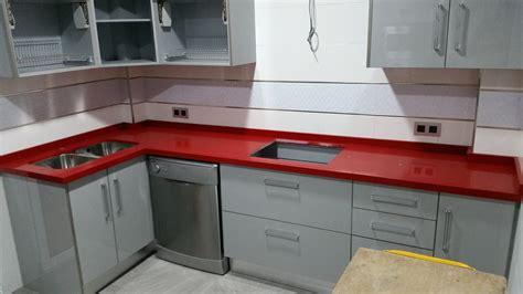 encimera roja hermoso cocinas con encimera roja fotos cantos de